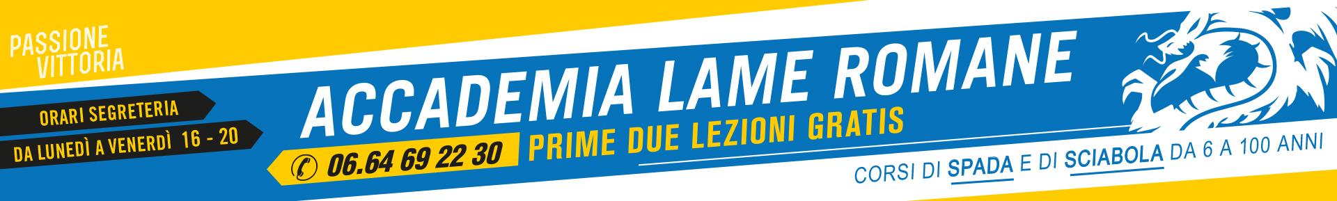 Accademia LAME ROMANE - Iscrizioni