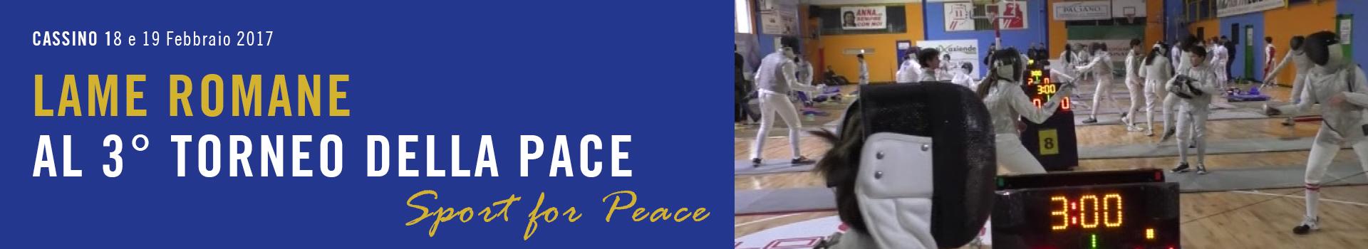 Lame Romane al Torneo della Pace - Sport for Peace - Cassino