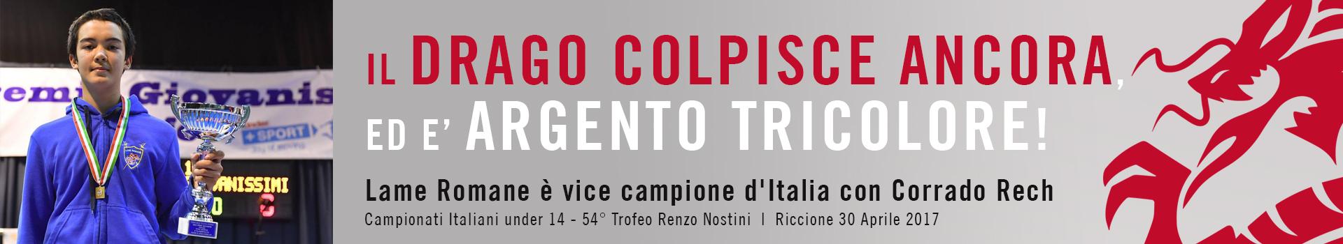 Lame Romane è vice campione d'Italia con Corrado Rech