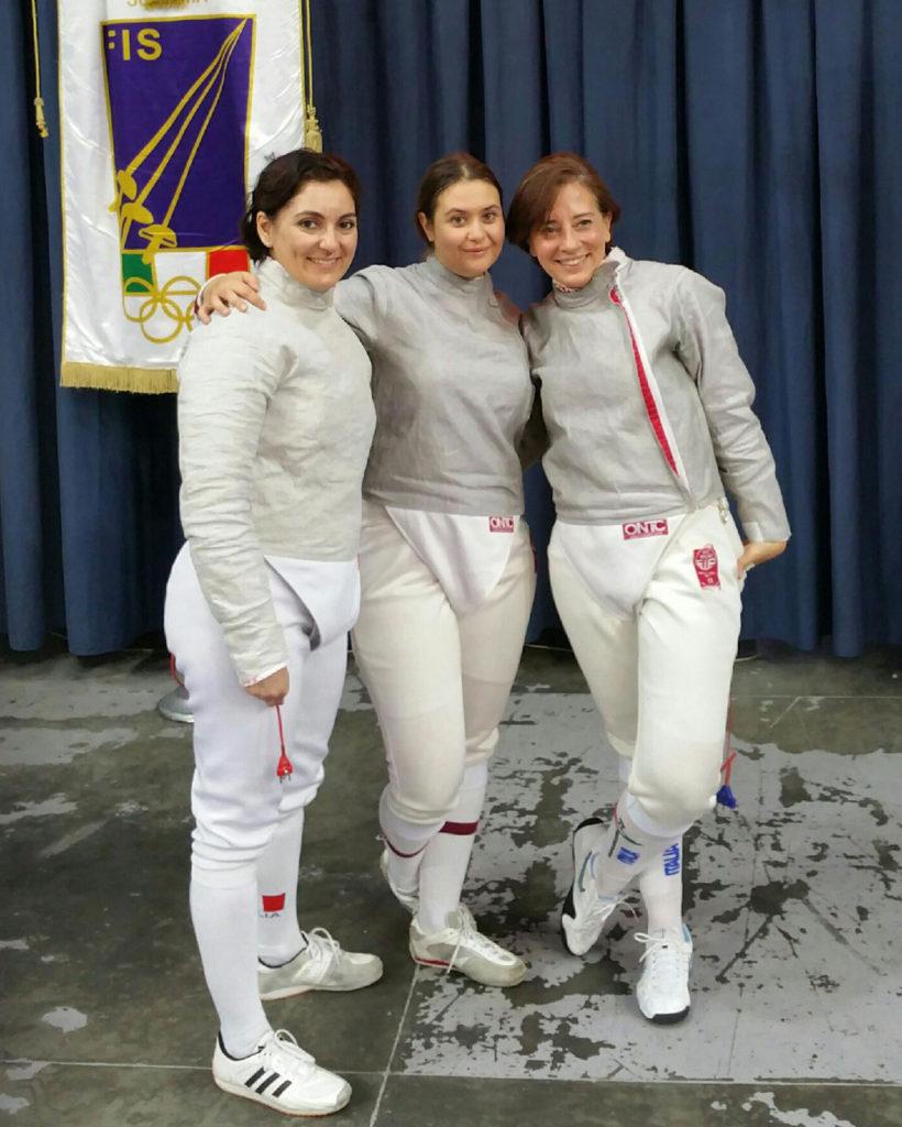 Atlete dell'Accademia Lame Romane